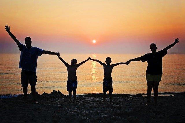 avoir une famille heureuse et épanouie