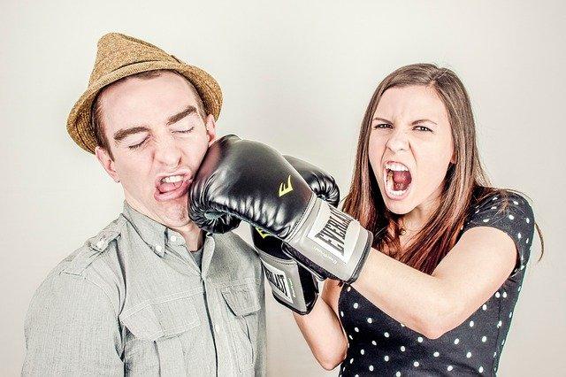 se disputer sans arrêt dans le couple